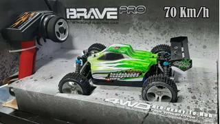 Carro A Control Remoto -brave Pro