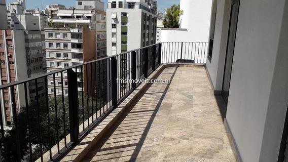 Apartamento Para Para Alugar Com 3 Quartos 4 Salas 316 M2 No Bairro Jardim América, São Paulo - Sp - Pj418