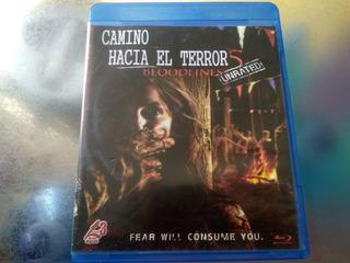 Película De Bluray Generica,camino Hacia El Terror 5 Bloodli