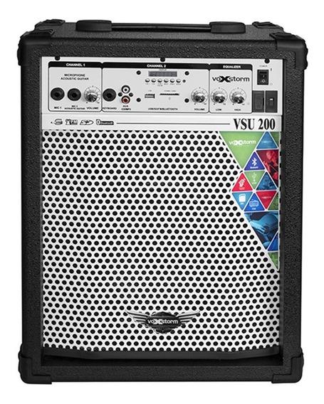 Caixa Multiuso Voxstorm Vsu 200 Usb - Cubo Vsu200 35w 8
