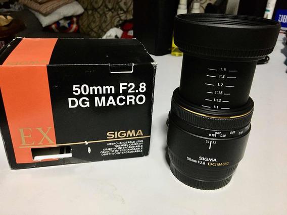 Sigma 50mm F/2.8 Ex Dg Macro Sony A-mount