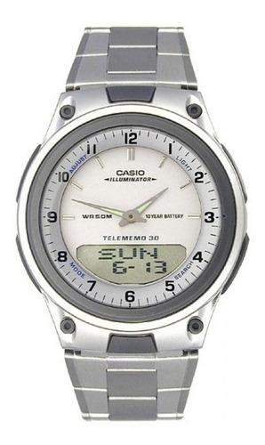 Reloj Casio Aw 80d 100% Original Pulso Acero