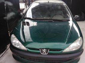 Peugeot 206 Ano 2002 - Sucata Para Retirada De Peças
