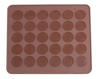 Molde Placa Silicona 48 Tapitas Macarons Macarrones