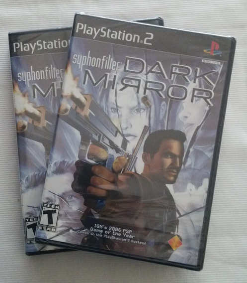 Syphon Filter Dark Mirror Playstation 2 Ps2 Original Ntsc