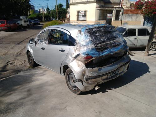 Chevrolet Agile Ls 2017 Chocado Deuda Patentes Reparar