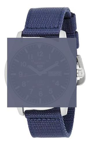 Imagen 1 de 1 de Malla Azul Nato 20 Mm De Ancho Para Reloj Seiko