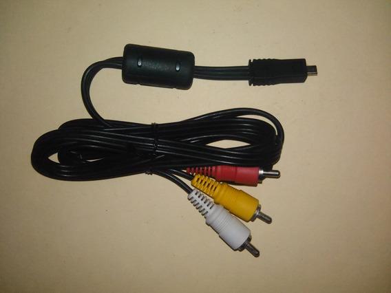 Cable Mini Usb/rca Para Cámaras 1,5mts