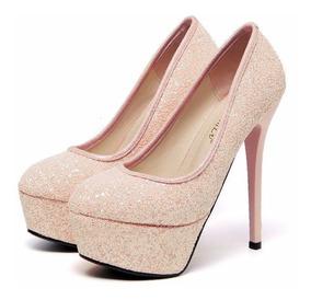 c596d29c0f Zapatos Plataforma Color Crema - Zapatos en Mercado Libre Argentina