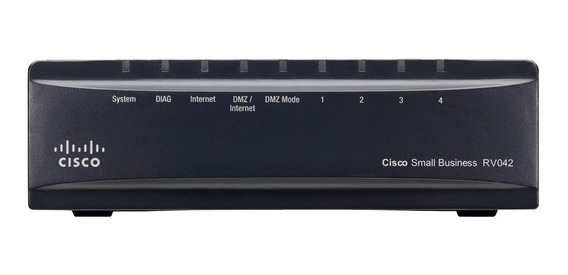 Router Cisco RV042G negro