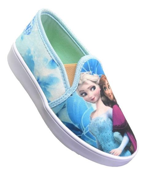 Tênis Iate Feminino Infantil Menina Frozen ! Promoção !