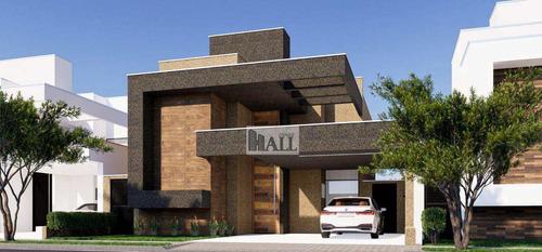 Imagem 1 de 11 de Casa À Venda Condomínio Village Damha 3 Banheiros E 2 Vagas - V8391