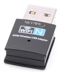 Adaptador Usb Wifi 300mbps Nm-cs300