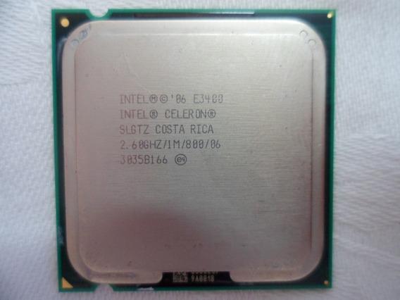 Proc.2.6ghz Intel Dual Core E3400 Skt775 P/pc Envio T.brasil
