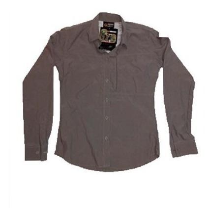 Camisa De Dama Gris Nikko