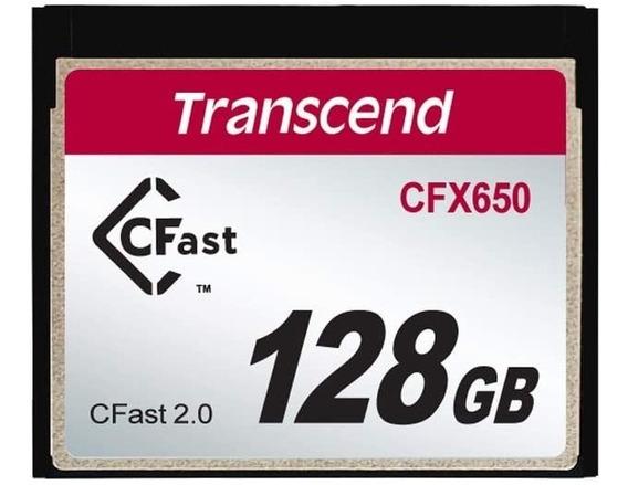 Cartão Cfast Transcend 128gb Preço Imbatível