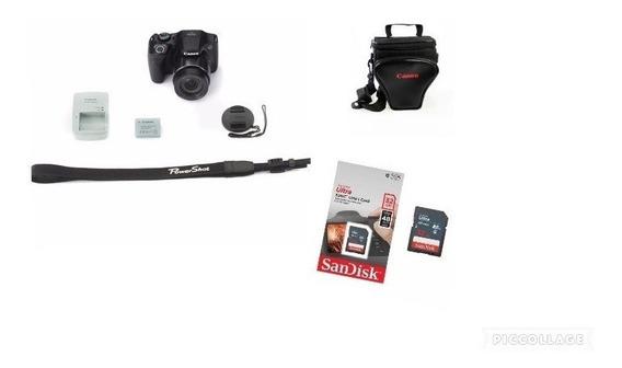 Câmera Canon Powershot Sx540 Hs Wi Fi +32gsd+bolsa+tiripé