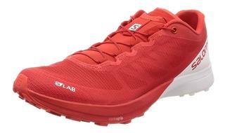 Tenis Salomon Unisex Trail Running Slab Sense 7 Ligero Rojo