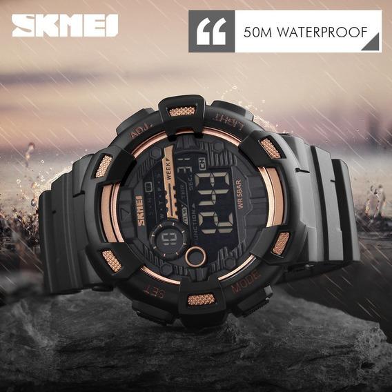 Relógio Masculino Militar Digital Corrida Shock Natação Sport