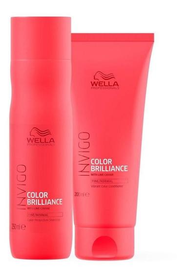 Invigo Color Brilliance Duo (2 Produtos) - Kit Wella Professionals