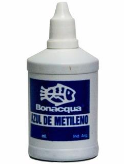 Bonacqua Azul De Mitileno 50ml Desinfectante Peces Acuario