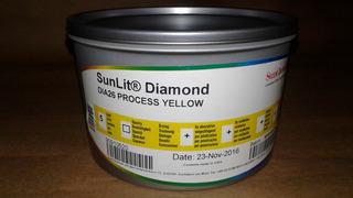 Tinta Sunchemical Para Offset Process Yellow X 1 Kg Zona Sur