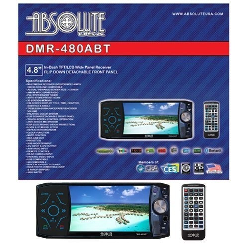 Absolute Dmr-480abt Reproductor De Dvd Multimedia En Tablero