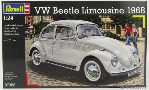 Volkswagen - Beetle Limousine 1968 1/24 Marca Revell