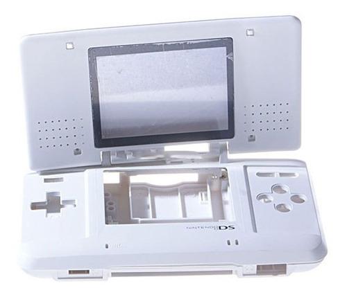 Carcasa Completa Retro Respuesto Nintendo Ds Blanco
