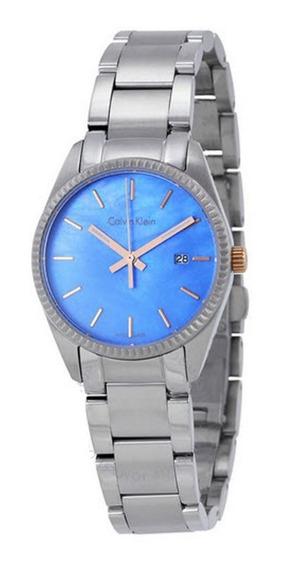 Calvin Klein K5r33b4x Madrepérola Azul 12xs/juros Promoção!!