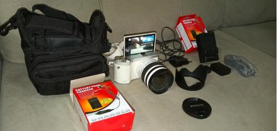 Câmera Mirrorless Samsung Nx300m, Youtube Vlog Excelente Cam