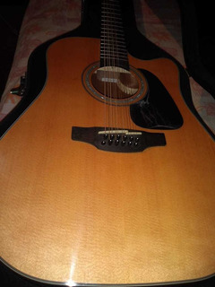 Guitarra Docerola Takamine Gd30ce-12 Con Estuche