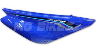Cacha Bajo Asiento Azul Derecha Yamaha Xtz 125 En Mg Bikes