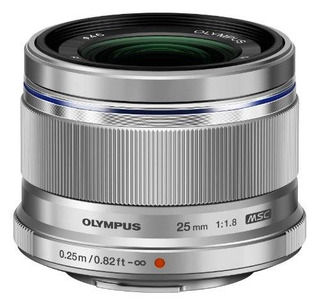 Olympus 25mm F1.8 Lentes Intercambiables (plata)