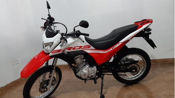 Honda Nxr 160 Bros Esdd 2019 Branca