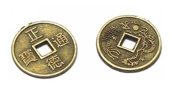 Monedas Feng Shui Atrae Suerte Chica Pack Por 10