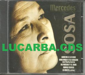 Cd - Mercedes Sosa - Importado Argentina - Lacrado
