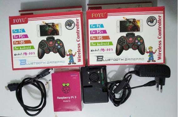 Vídeo Game Retro Raspberry Pi3 B+ Plus Recalbox 16gb