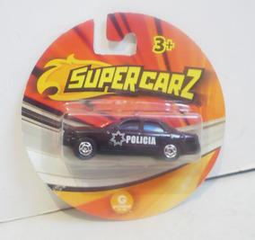 Juguete Patrulla Federal De Supercarz Escala Carrito T1clKJuF3