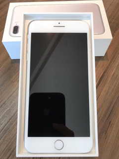 iPhone 7s Plus 256gb Prata - Somente Venda