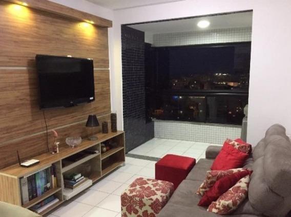 Apartamento Nascente Mobiliado Quarto E Sala 48m2 No Rio Vermelho - Bru764 - 34367392