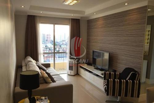 Apartamento Em Condomínio Padrão No Bairro Vila Prudente - 2 Dorms E 1 Vaga - 3525