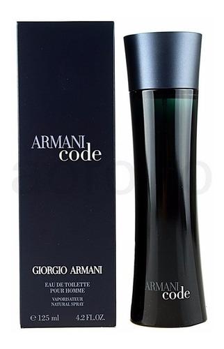 Imagen 1 de 3 de Perfume Armani Code 125ml Caballero ,  Importado Original