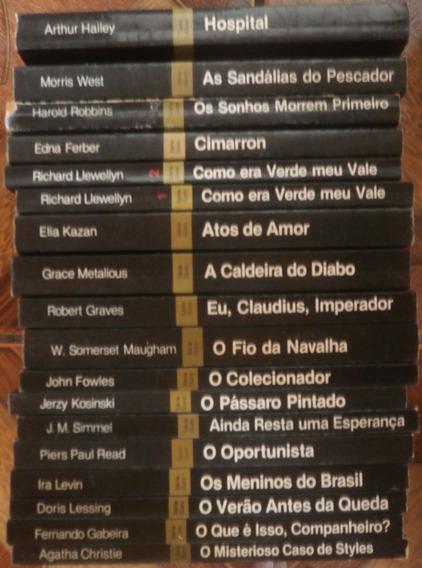 Lote 19 Livros Coleção Grandes Sucessos Série Ouro Abril Cul