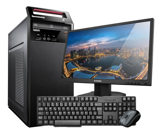 Computador Completo Lenovo I5 8gb 500gb Hd Wifi Monitor
