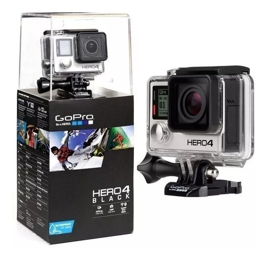 Câmera Filmadora Gopro Hero 4 Black + Sd 32gb