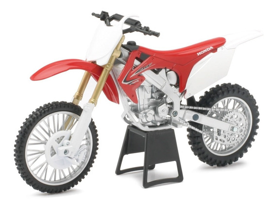 Moto Honda Crf 250r Cross Enduro Motocross 1:12 New Ray