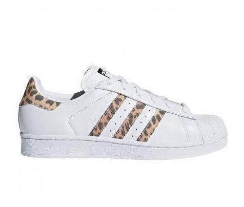 adidas Supertar W Blanco/leopardo Mujer