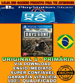 Days Gone Ps4 1 - Original 1- Vitalício