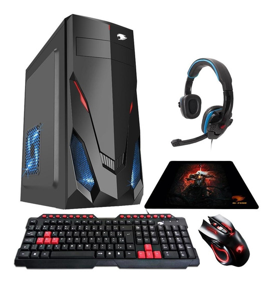 Pc Gamer G-fire Htg-350b A6 7400k 8gb R5 2gb Integrada 500gb